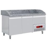Kylmätyöpöytä Diamond TP23/P9 graniittitasolla