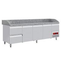 Kylmätyöpöytä Diamond TP361/P9 graniittitasolla