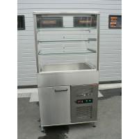 Käytetty kylmälasikko linjastoon