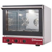 Kiertoilmauuni 3.6 kW + Salamanteri 0.7 kW Diamond BRIO43/X-P