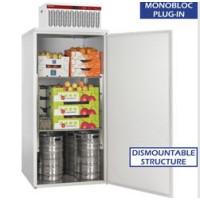 Kylmäkaappi + kylmäkone  Diamond ASM/200+UAC/P1