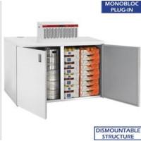 Kylmäkaappi + kylmäkone  Diamond RBB/2+URA/P1