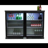 Kylmäkaappi lasiovella 240L Serrco SGD-240GE