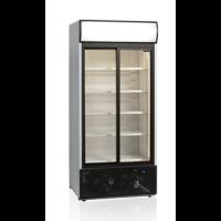 Kylmäkaappi lasiovella 462l Tefcold FSC890S-P