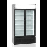 Kylmäkaappi lasiovella 645l Tefcold FSC1950H-P