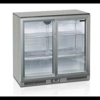 Kylmäkaappi liukuovilla 183l Tefcold BA25S-I S/A