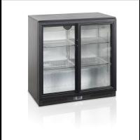 Kylmäkaappi Tefcold BA25S-I backbar liukuovilla
