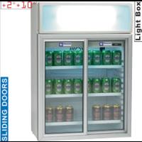 Kylmäkaappi juomille liukuovilla Diamond TOP11/R6