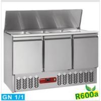 Kylmä salaattityöpöytä Diamond SAL3M/R6