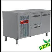 Kylmätyöpöytä Diamond MR2/R2+MC1/2-TP