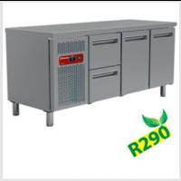 Kylmätyöpöytä Diamond MR3/R2+MC1/2-TP