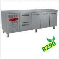 Kylmätyöpöytä Diamond MR4/R2+MC1/2-TP