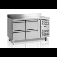 Kylmätyöpöytä neljällä vetolaatikoilla Tefcold CK7240-I