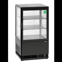 Kylmävitriini 58L Bartscher 700358G Musta
