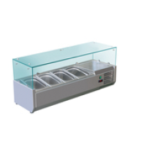 Kylmävitriini GN 1/3-150 VRX1400/380