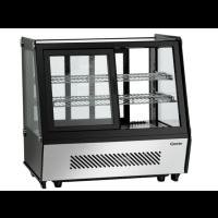 """Kylmävitriini """"läpiajettava"""" Deli-Cool II Bartscher 700208G 120L"""