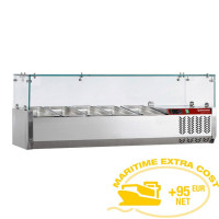 Kylmävitriini 5 x GN 1/4 Diamond SX120/DV-R6