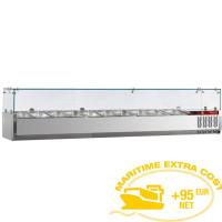 Kylmävitriini 7 x GN 1/4 Diamond SX160/DV-R6