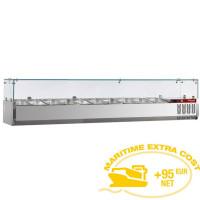 Kylmävitriini 7 x GN 1/4 Diamond SX200/DV-R6