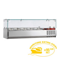 Kylmävitriini 4 x GN 1/3 Diamond SY120/DV-R6