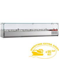 Kylmävitriini 9 x GN 1/3 Diamond SY200/DV-R6