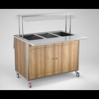 Lämminvaunu GN-astioillle SSB1200