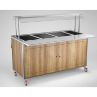 Lämminvaunu GN-astioillle SSB1600