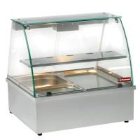 Lämpövitriini Diamond VBE-211, 2 x GN 1/1 palvelumallinen