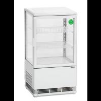 Kylmävitriini 57L Bartscher 700258G valkoinen