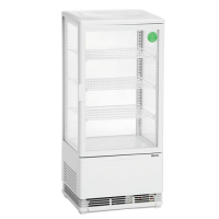 Kylmävitriini 78L Bartscher 700578G valkoinen