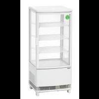 Kylmävitriini 86L Bartscher 700678G valkoinen