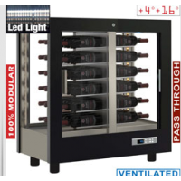 Näyttävä viinikaappi Diamond PVV-1/TR+DE21-NR