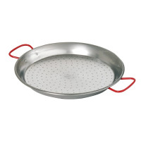 Teräksinen paella-wokkipannu 550 mm Bartscher A153055