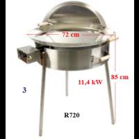 Paellapannu ulkokäyttöön R720