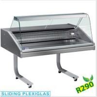 Palvelumallin myyntitiski kalatuotteille Diamond VR10-CR/R2
