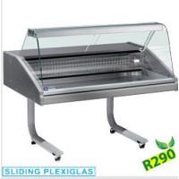 Palvelumallin myyntitiski kalatuotteille Diamond VR15-CR/R2