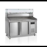 Pizzatyöpöytä Tefcold PT1200 + VK38-150