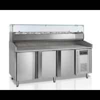 Pizzatyöpöytä Tefcold  PT1300 + VK38-200