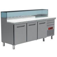 Pizzatyöpöytä Diamond MR-MAXIPIZZA/R2 graniittipöydällä