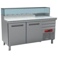 Pizzatyöpöytä Diamond MR-PIZZA/R2 graniittipöydällä