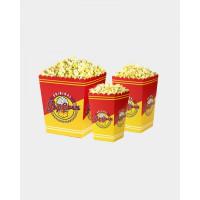 Popcorn pahvirasia 1,4 litraa yksittäiskappaleina