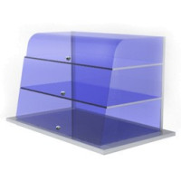 Drop-in kylmä tasolasikko näyteikkunalla ja kahdella tasolla RIK700/2