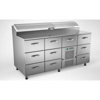 Kylmäköntyöpöytä Inox Baltic RTP16010