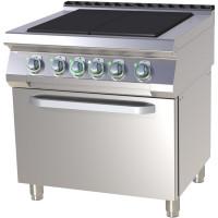 Tehosähköliesi kiertoilmauunilla RMGastro SPLT780-11E