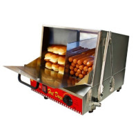 Vuokrattava Hot Dog höyrystinvitriini CLSC