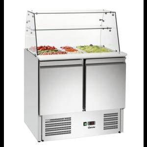 Kylmäkön/salaattipöydän näyteikkuna Bartscher 200274