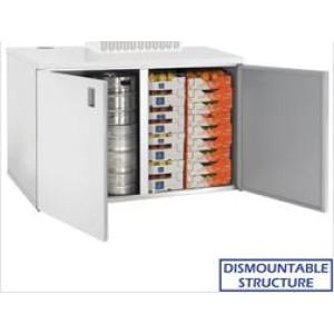 Kylmäkaappi + kylmäkone Diamond RBB/3+3+URB/P2