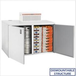 Kylmäkaappi + kylmäkone Diamond RBB/4+4+URB/P2