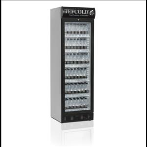 Kylmäkaappi Tefcold SCU1375CP lasiovella