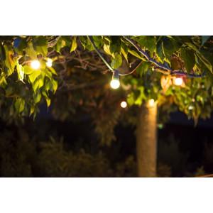 Lamppuketjut ja koristevalot ammattikäyttöön eri pituuksilla